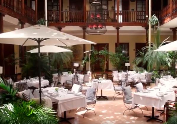 Hotel Santa Lucía Restaurant